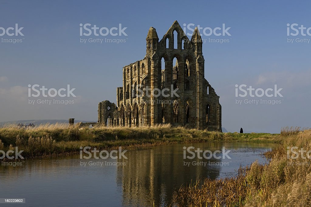 Whitby Abbey royalty-free stock photo