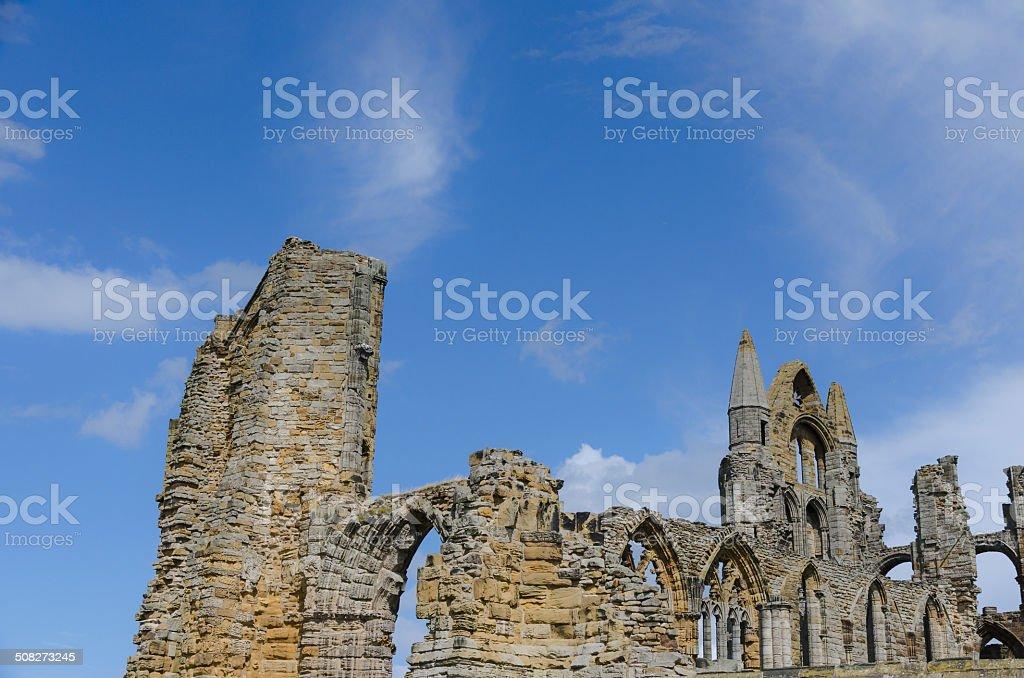 Whitby Abbey royalty-free stock photo
