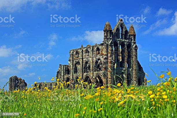 Whitby Abbey Stock Photo - Download Image Now