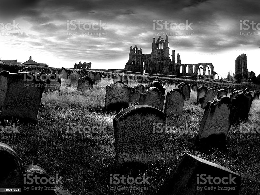 Whitby Dracula Country royalty-free stock photo