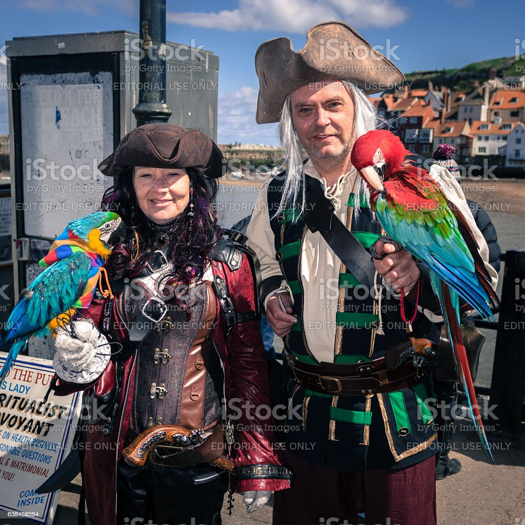 Whitby Goth Weekend stock photo