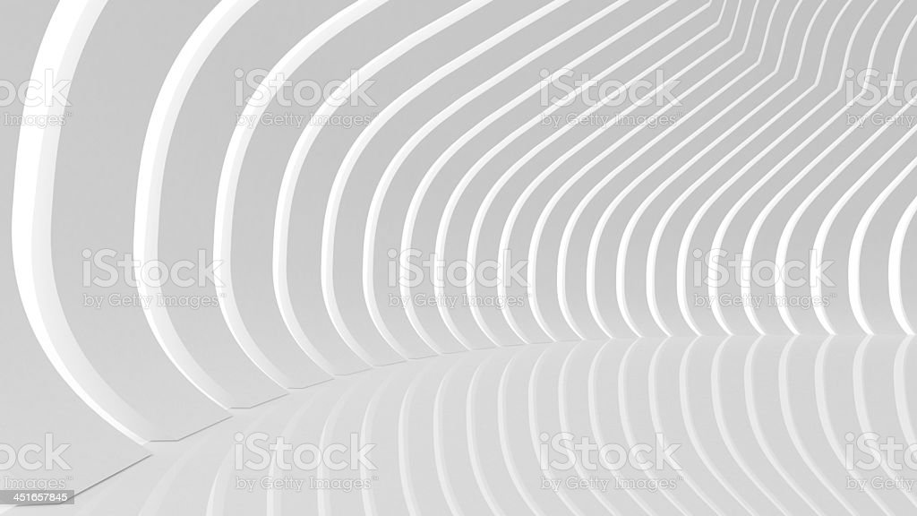 White abstract architecture background stock photo