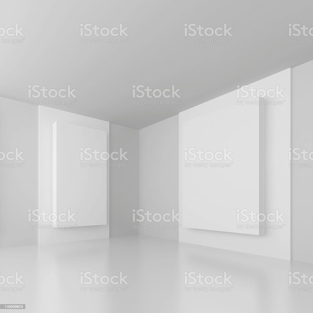 White Abstract Architecture royalty-free stock photo