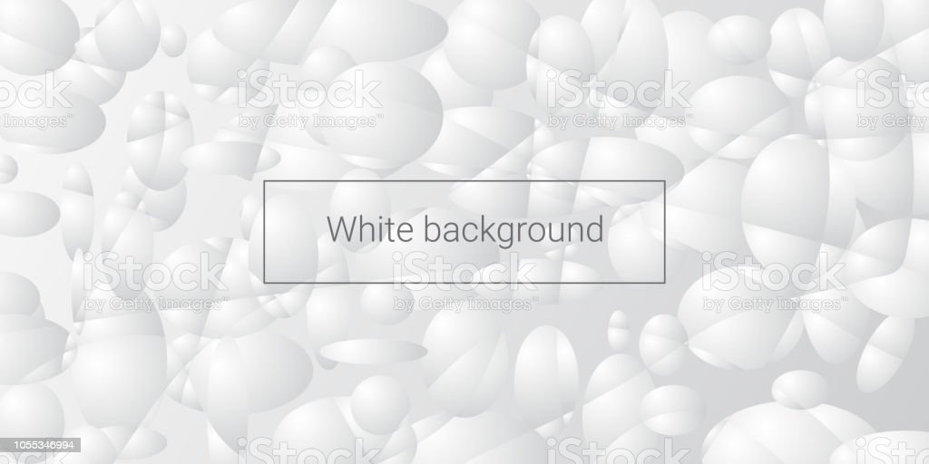 White abstract background stock photo