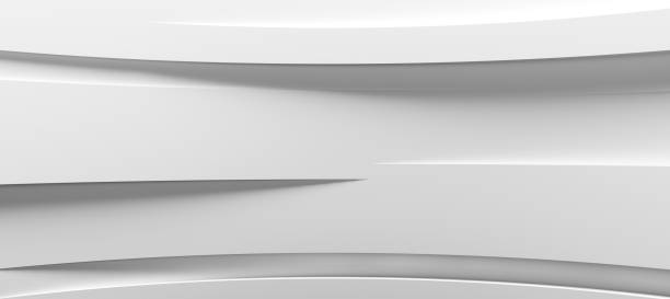 White abstract background White abstract background modern period stock pictures, royalty-free photos & images