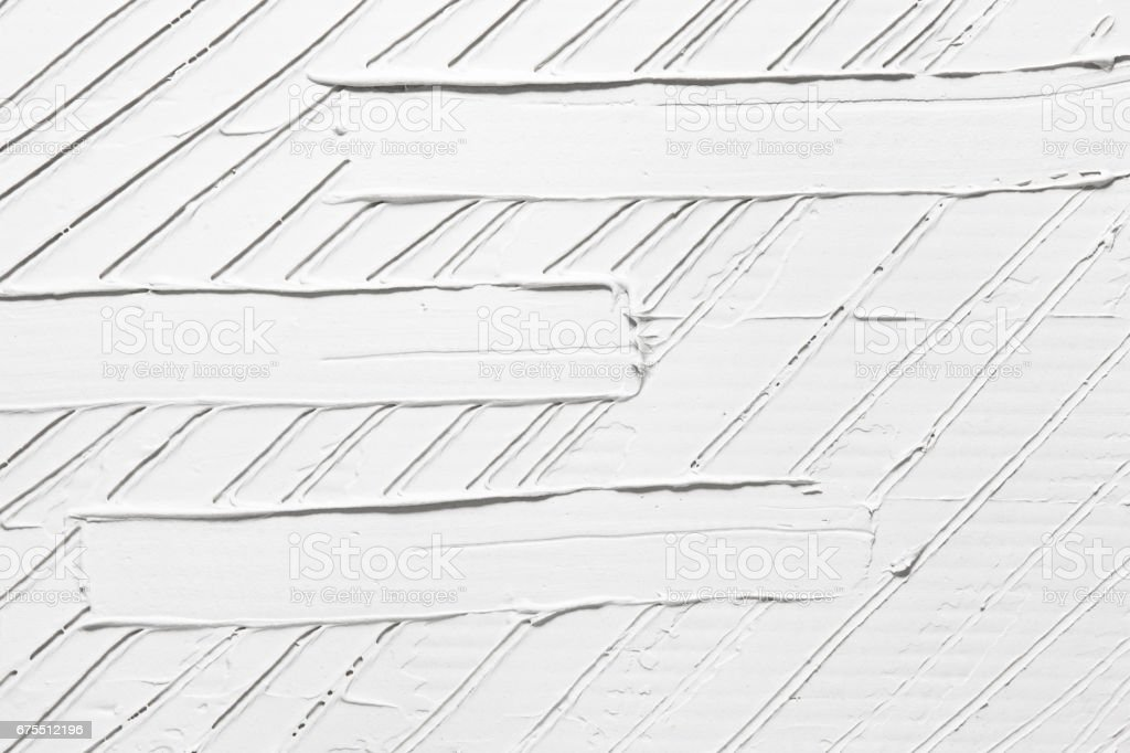 White abstract background, plaster relief texture royalty-free stock photo