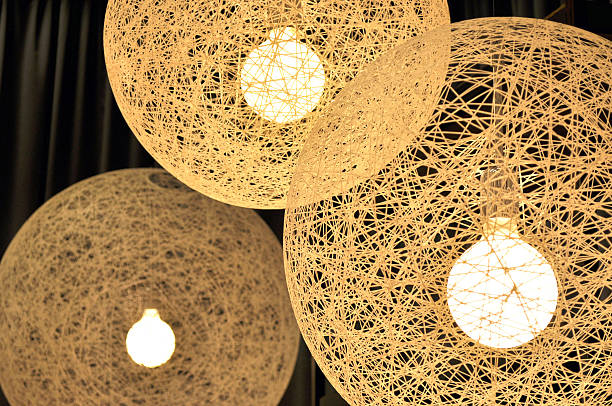 White Abstract Cocoon Lights