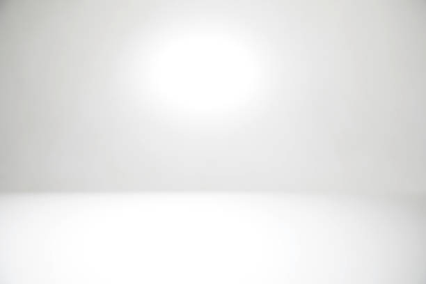 white abstract defocused background - empty room zdjęcia i obrazy z banku zdjęć