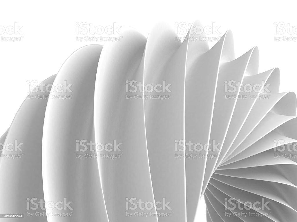 Weißes abstrakte Geometrische Abbildung-Hintergrund – Foto