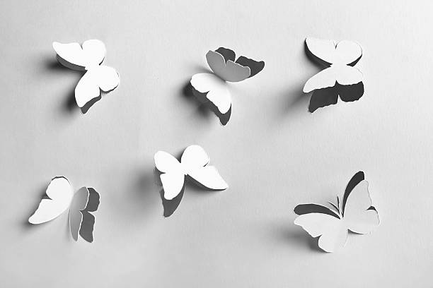 White abstract paper cutout butterflies picture id153146757?b=1&k=6&m=153146757&s=612x612&w=0&h=vsopwifz5damanyr hk7kpkw7mbylifawzc o3bsngm=