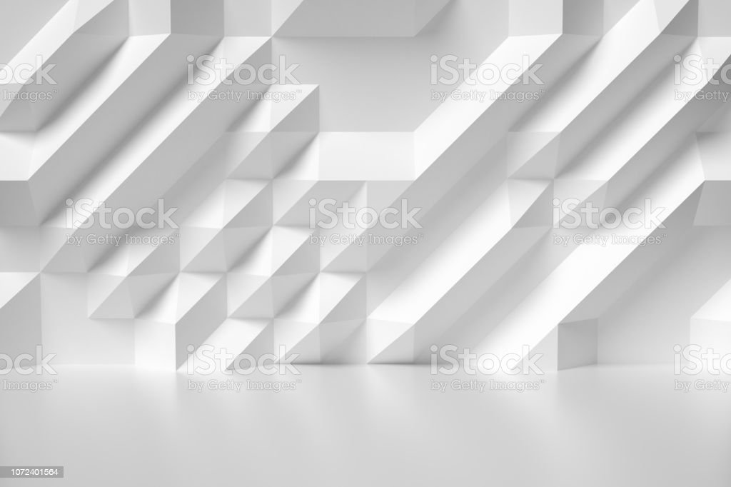 White abstract room wall colorless illustration royalty-free stock photo
