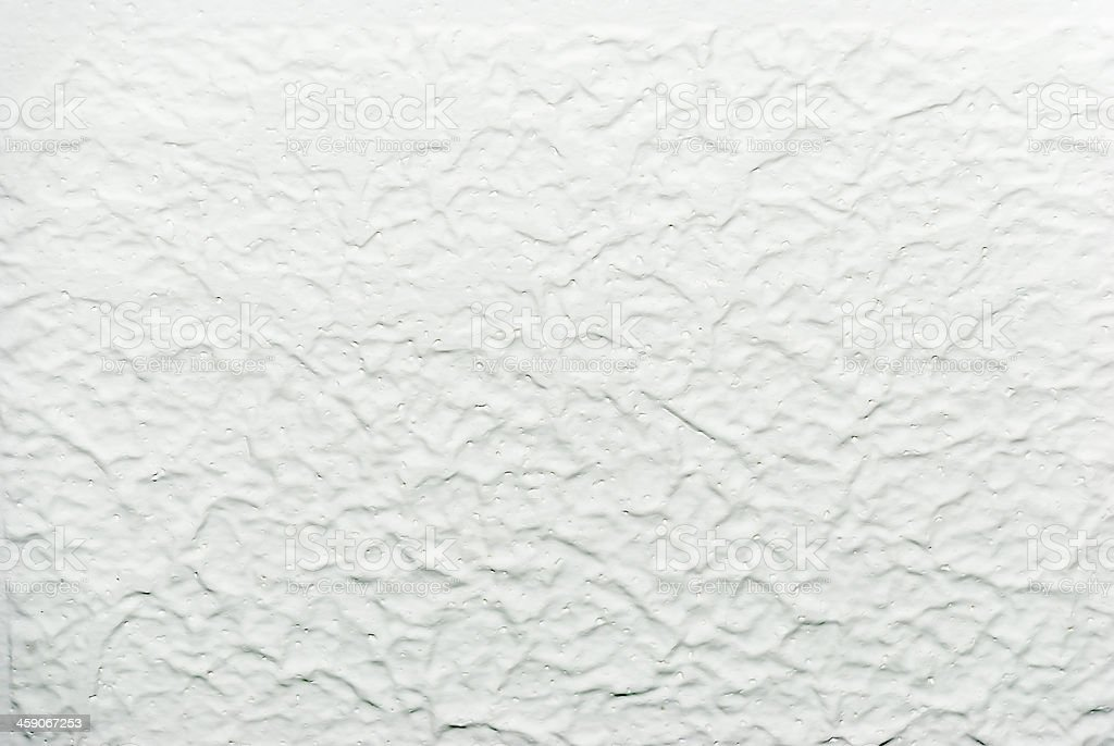 White acoustic popcorn ceiling texture stock photo