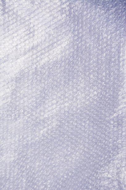 White air bubble warp - foto stock