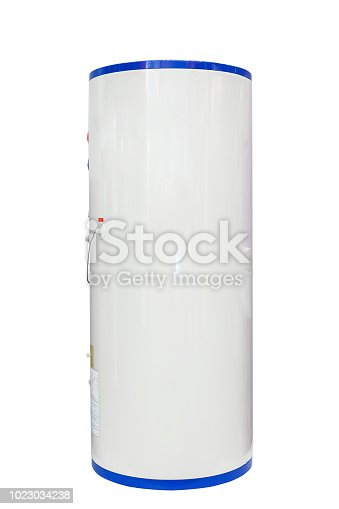 istock White air source heat pump water heater isolated on a white background. Including clipping path 1023034238