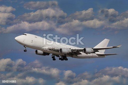 494996104 istock photo White Aircraft 534314583