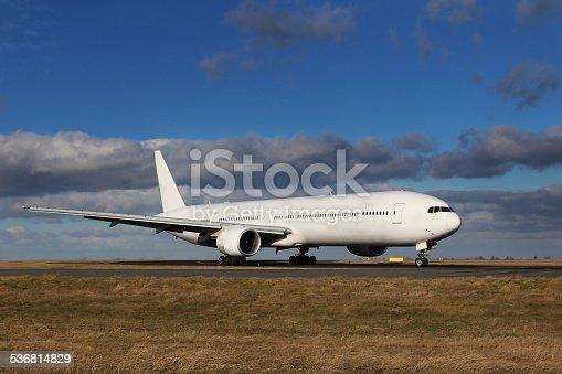 494996104 istock photo White Aircraft 536814829