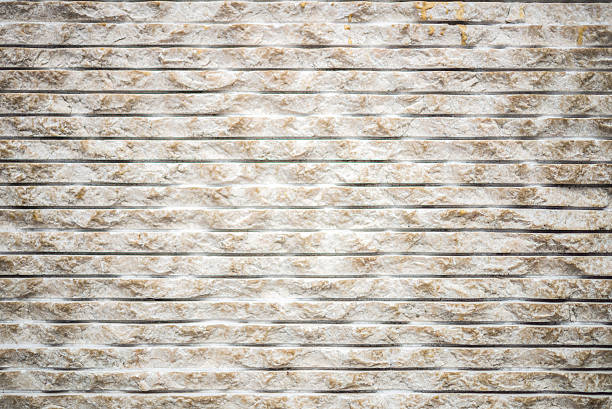 White and beige concrete wall background stock photo