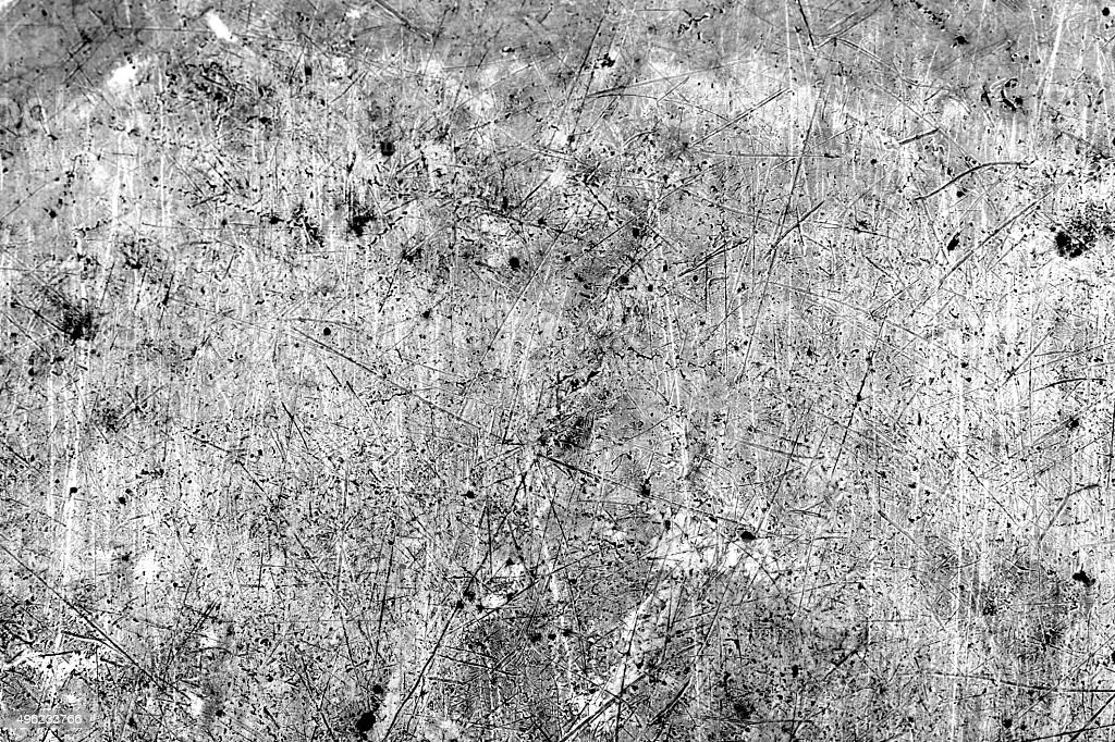 white and black distress Overlay Grainy Texture background. stock photo
