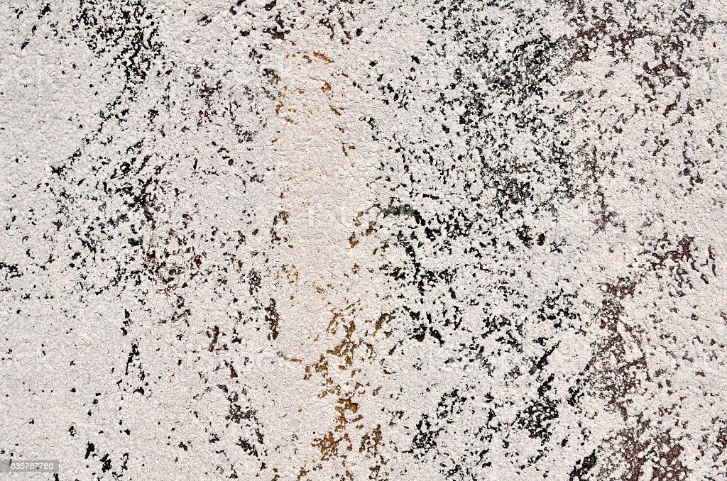 White and black stucco texture stock photo