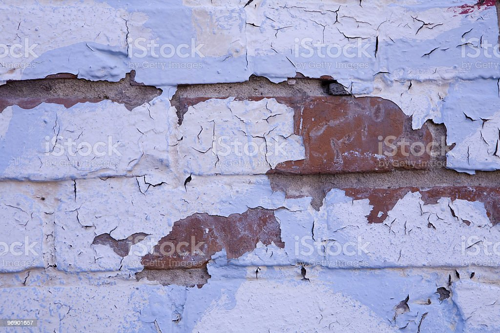 White and Blue Grunge Layer royalty-free stock photo