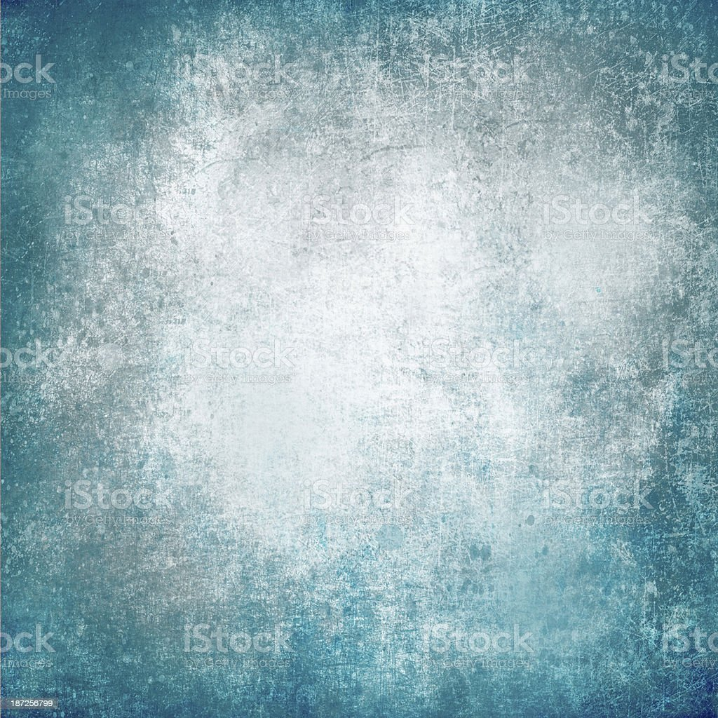White and blue grunge textured background stock photo