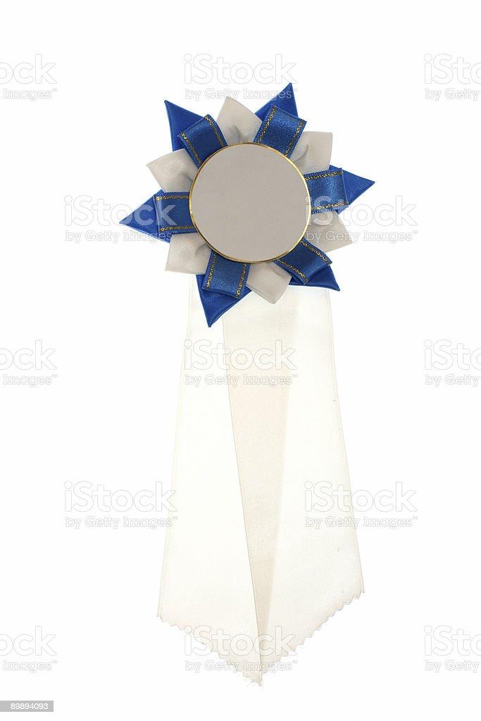 weiß und blau Farbband Lizenzfreies stock-foto