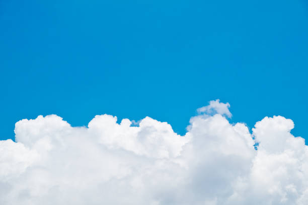 white and blue sky during summer. - free images for downloads stock photos and pictures