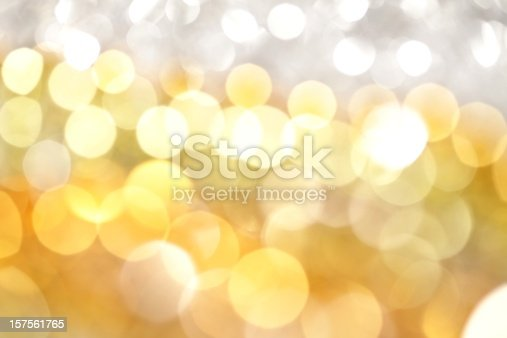 istock White and Gold Lights Background 157561765