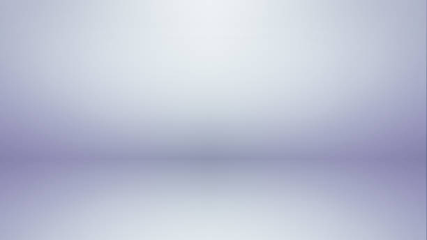 White and Gray Studio Room Product Display Background Template stock photo