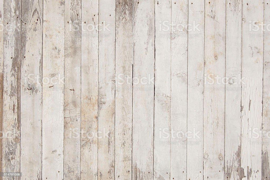 Weiß und Grau hölzernen Planken – Foto
