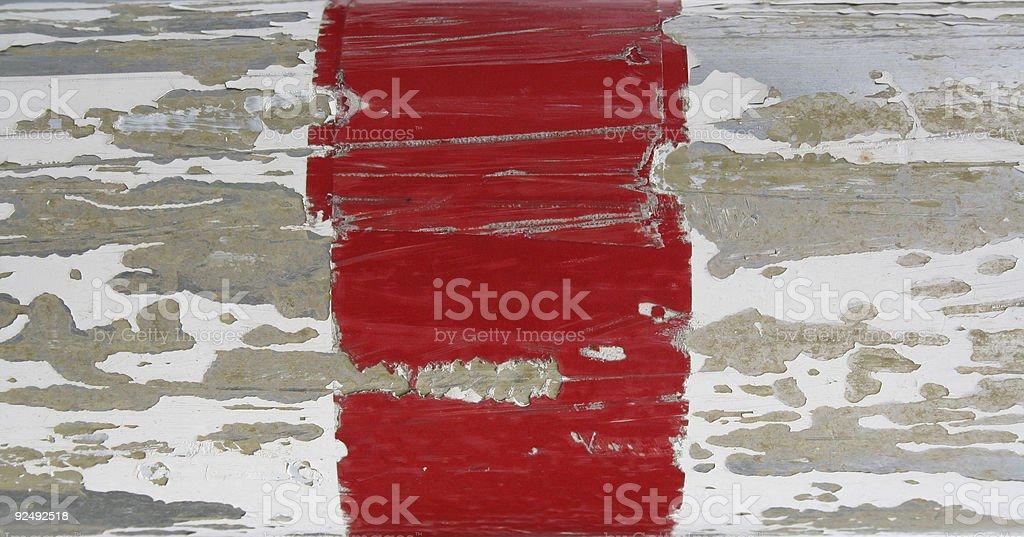 Textur Weiß und Rot Verfall Lizenzfreies stock-foto
