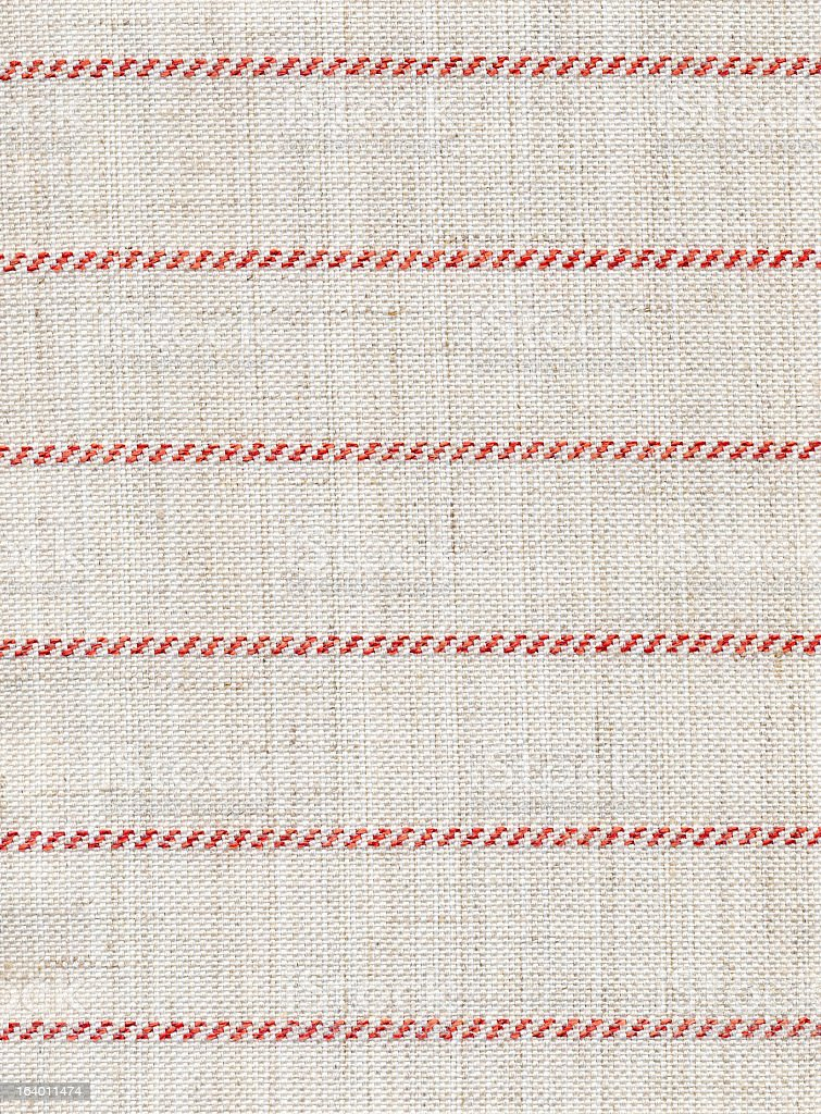White and Red Striped Textile royalty-free stock photo