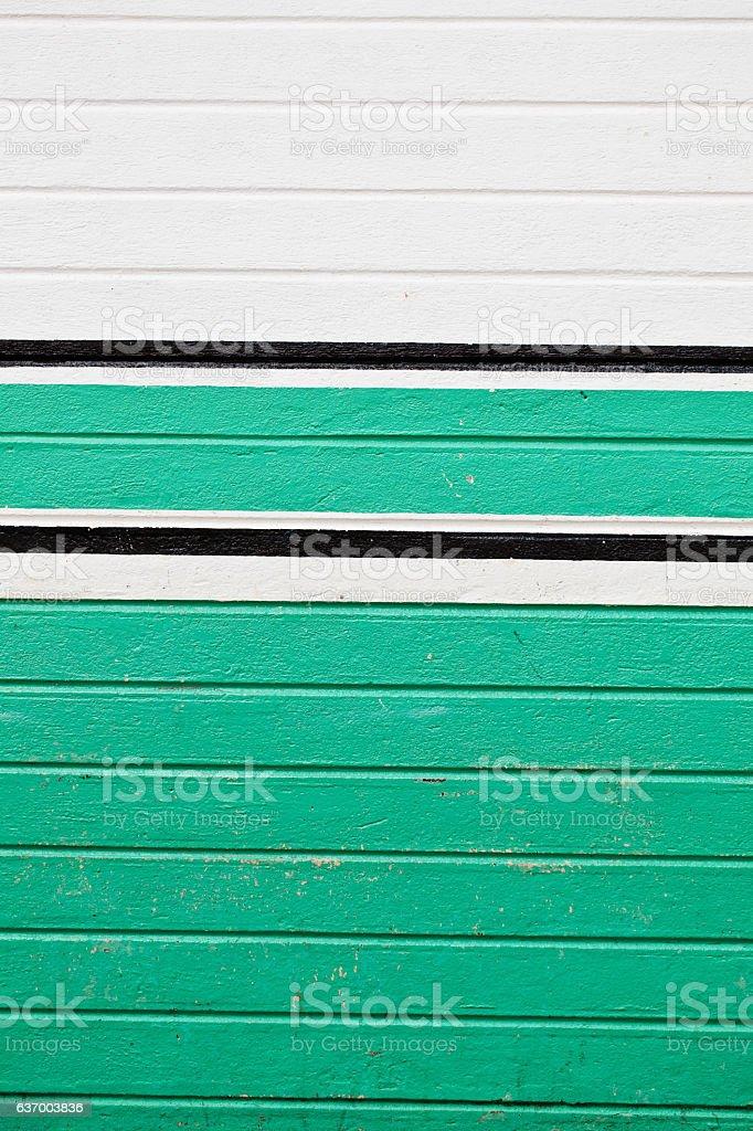 White and Turquoise Stripes stock photo