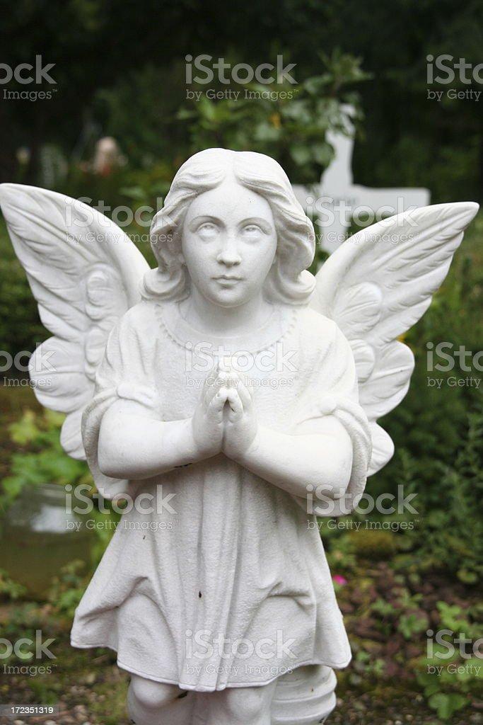 white angel royalty-free stock photo