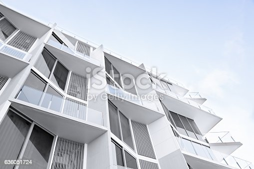 istock White apartment houses 636051724