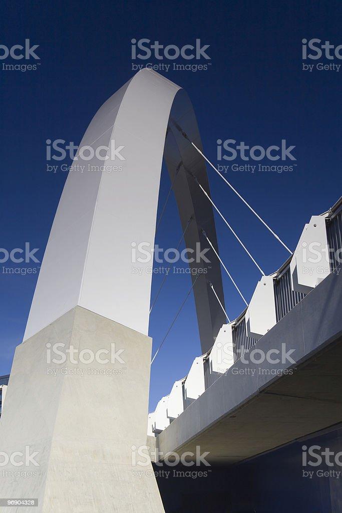 white arc royalty-free stock photo