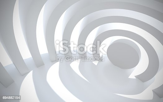 694008266istockphoto White architectural space with sunlight 694882154