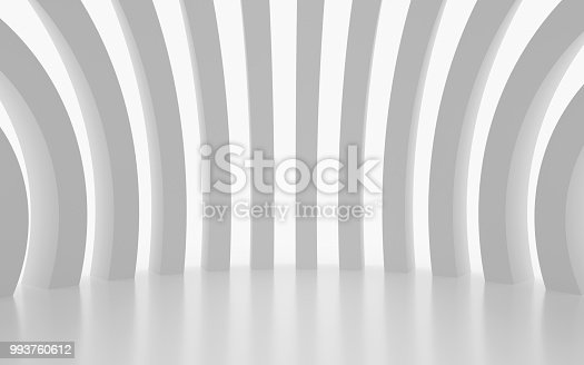 694008266istockphoto White architectural space with sunlight 993760612