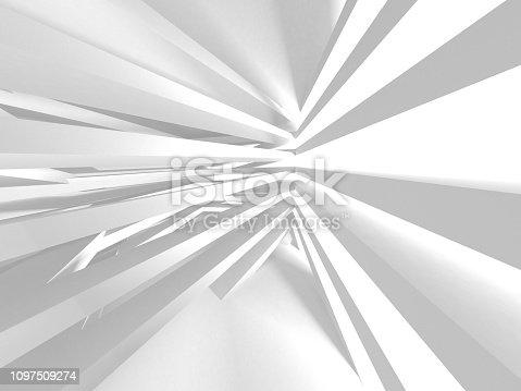 istock White Architecture Construction Modern Interior Background 1097509274
