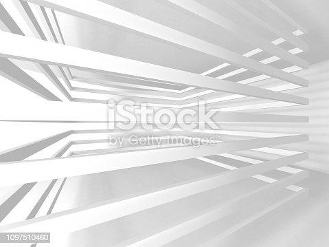 istock White Architecture Construction Modern Interior Background 1097510460