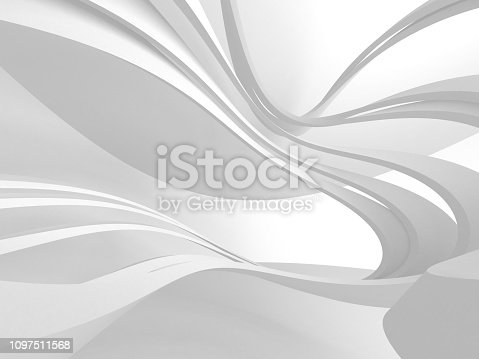 istock White Architecture Construction Modern Interior Background 1097511568