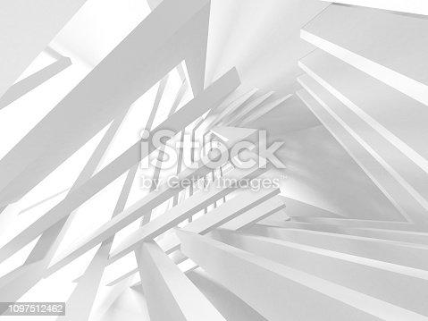 istock White Architecture Construction Modern Interior Background 1097512462