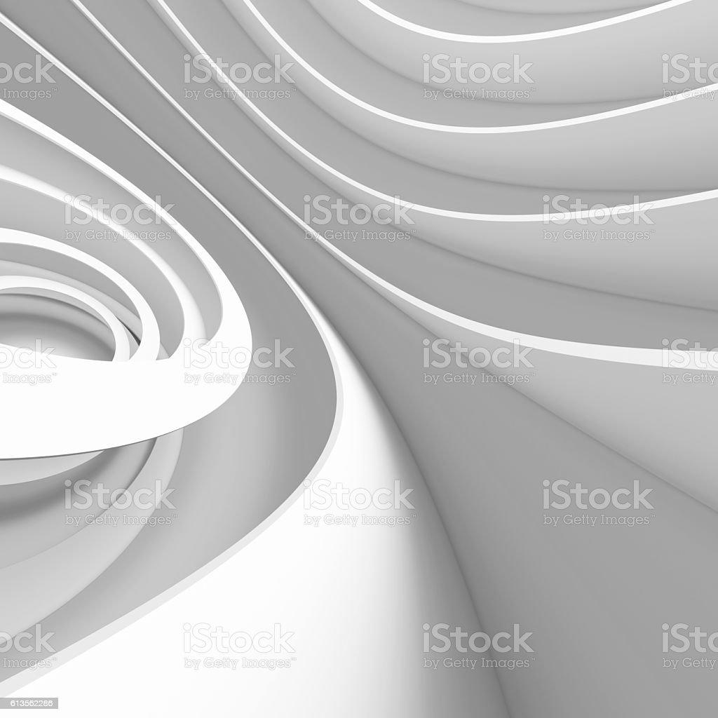 White Architecture Design stock photo