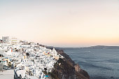 istock White architecture on Santorini, Greece 1280501196