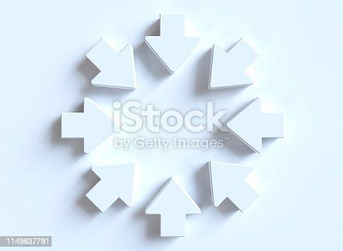 118386322istockphoto White arrows 1149637791
