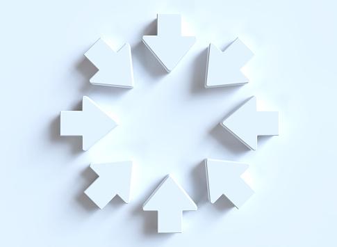 istock White arrows 1149637791