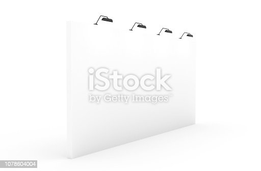 1089180420istockphoto White Backdrop Stage in Room 1078604004