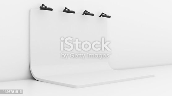 1089180420istockphoto White Backdrop Stage in Room 1156781515