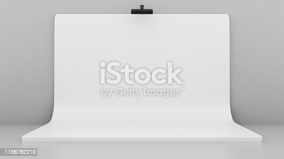 1089180420istockphoto White Backdrop Stage in Room 1156782210