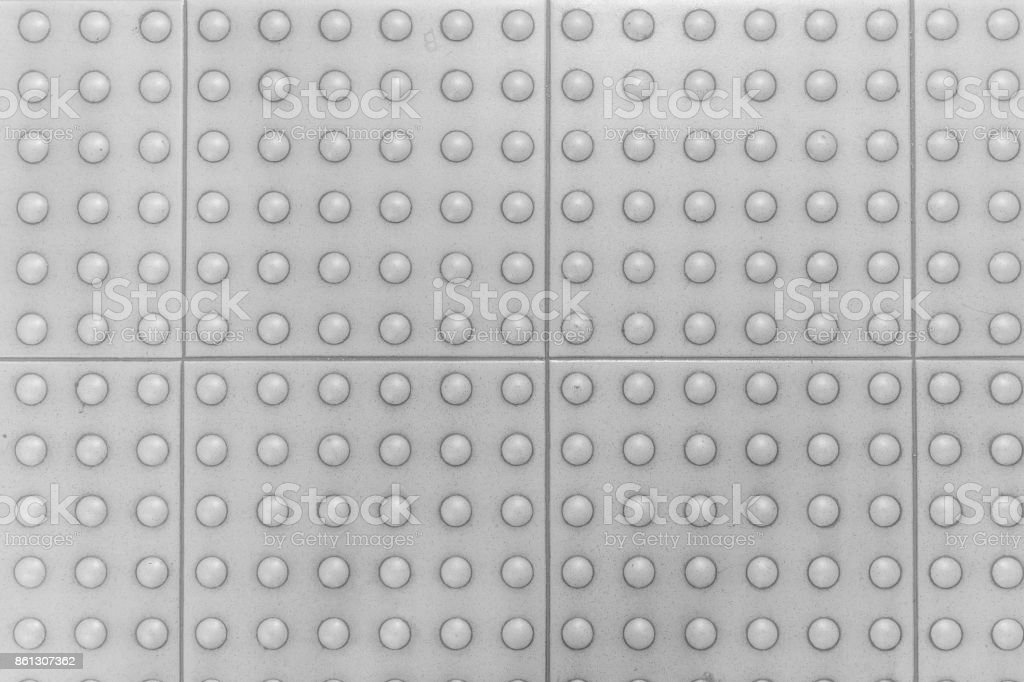 white background, focus on Pattern dot texture, grey color abstract background stock photo